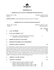download the entire city council packet for may 12, 2008
