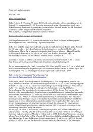 Notat om Lissabon-traktaten Af Rune Lund Intro, der ... - Enhedslisten