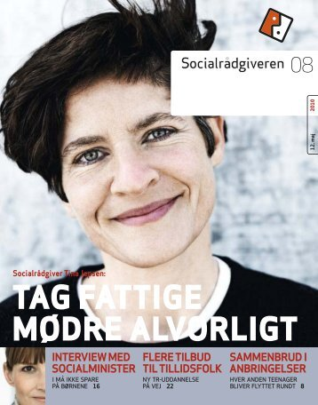 Socialrådgiveren nr. 8-2010 - Dansk Socialrådgiverforening