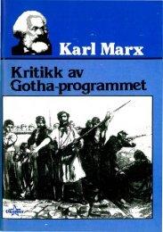 Kritikk av Gotha-programmet - Radikal Front