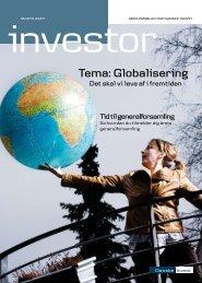 Tema: Globalisering - Danske Invest