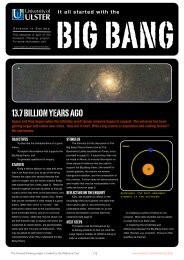 It all started with the big bang - University of Ulster