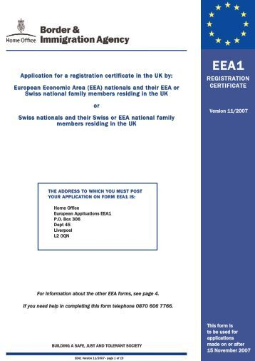 Application for a registration certificate in the UK by ... - Gazeta.pl