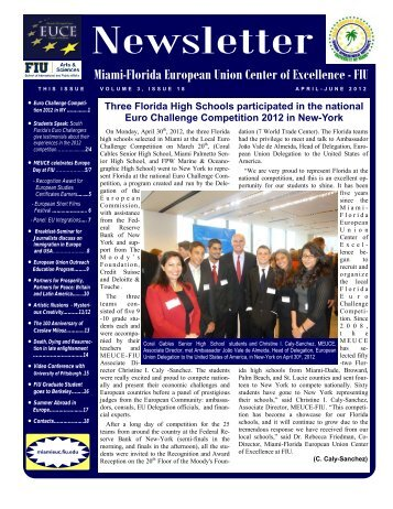 April June 2012 18th Issue (*.pdf) - College of Arts & Sciences ...
