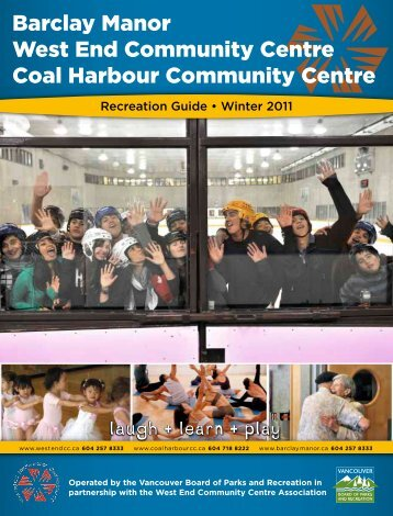 Barclay Manor West End Community Centre Coal Harbour ... - Ubertor