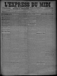 16 Mai 1909 - Bibliothèque de Toulouse