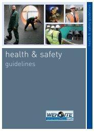 health & safety - CMS