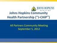 September 4, 2012 Community Meeting Presentation - Urban Health ...