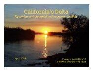 Delta Briefing Book - CALFED Bay-Delta Program - State of California