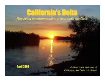 Delta Briefing Book - CALFED Bay-Delta Program - State of California