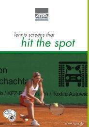 match Tennis screens that