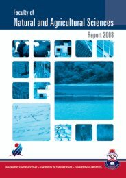 Cover English.indd - Faculty of Natural and Agricultural Sciences ...