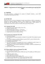 ANEXO A - Laboratório de Eficiência Energética em Edificações ...