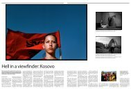 Hell in a viewfinder: Kosovo