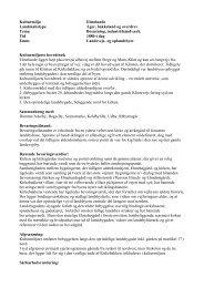 Kulturmiljø Elmelunde Landskabstype Ager, bakkeland og overdrev ...