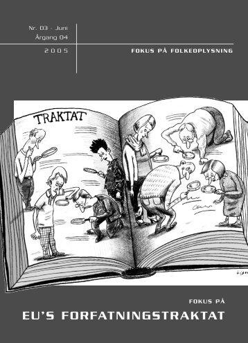 EU'S FORFATNINGSTRAKTAT - Dansk Folkeoplysnings Samråd