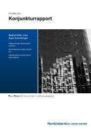 Konjunkturrapport - Handelsbanken