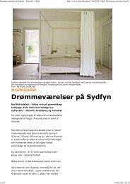 Læs artikel - Johan Ludvigs Kafe + Bed & Breakfast