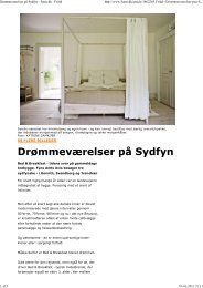 Læs artikel - Johan Ludvigs Kafe + Bed & Breakfast
