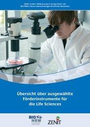 Übersicht über ausgewählte Förderinstrumente für ... - ZENIT GmbH