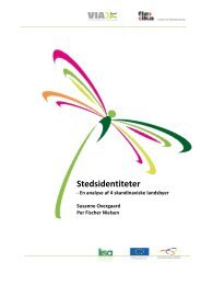 Stedsidentiteter - VIA University College