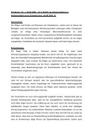 KG Berlin, Urt. v. 08.05.2008 – 20 U 202/06; Ausländeraufklärung ...