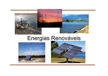 Aula 7: Energias renováveis - UFSC