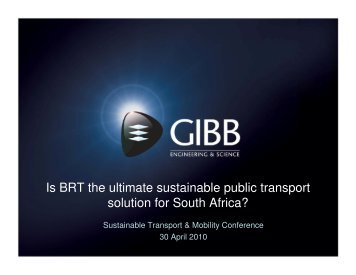 Is BRT the ultimate sustainable public transport ... - Alive2green