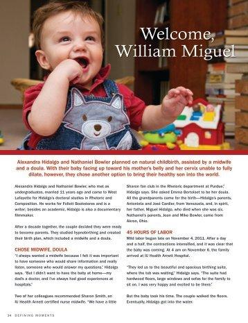 Read Baby Miguel's story. - IU Health