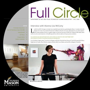 Interview with Alumna Lisa McCarty - School of Art - George Mason ...