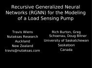 Recursive Generalized Neural Networks (RGNN) for the Modeling of ...