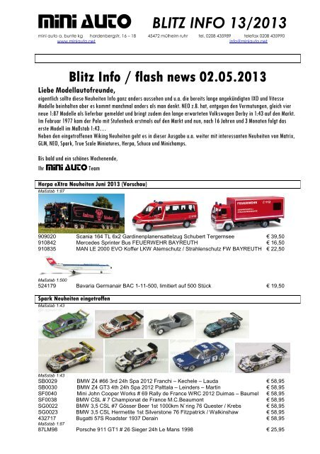 VW T1 Kasten DAB Intermodellbau 2013