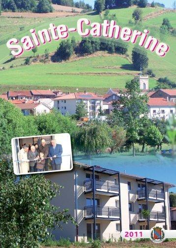 Bulletin Municipal 2011 - Mairie de Sainte-Catherine
