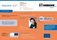 ESF-Maßnahme ... ein Angebot für Menschen im ALG II-Bezug, die ...