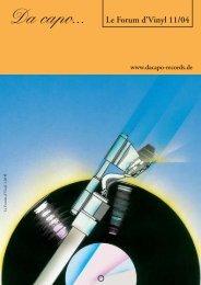 Le Forum 11/2004 - Da capo