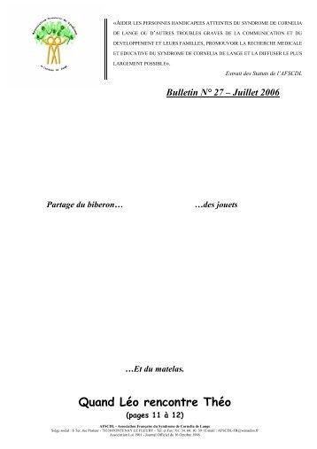 Bulletin N° 27 - Orphanet
