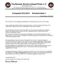 Kreispokal 2012/2013 Rundschreiben 1 - Tischtennis-Kreisverband ...