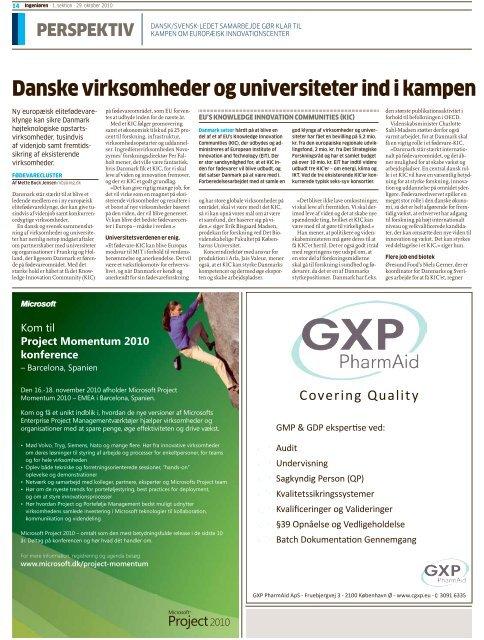 danske virksomheder og universiteter ind i kampen ... - Øresund Org
