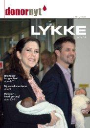 Donor Nyt 98 - Bloddonorerne i Danmark