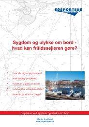 Sygdom og ulykke om bord - Søsportens Sikkerhedsråd