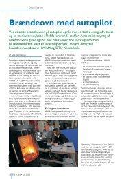 Brændeovn med autopilot - Biopress