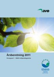 Årsrapport for 2011 - Frederikshavn Forsyning