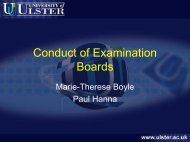 Conduct of Examination Boards