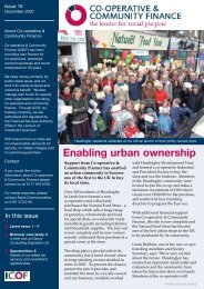 to download Issue 16 - Co-operative and Community Finance