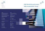 Broschüre der RWE Musikstiftung Norwegen - Stifterverband für die ...