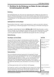 7. Richtlinie für die Erhebung von Daten für das Leitungsin ...
