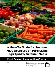 A How-To Guide for Summer Food Sponsors on Purchasing High ...