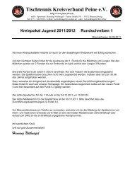 Kreispokal Jugend 2011/2012 Rundschreiben 1 - Tischtennis ...