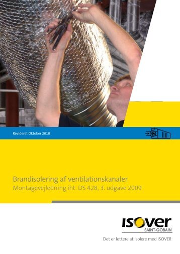 Brandisolering af ventilationskanaler - Armadan.dk