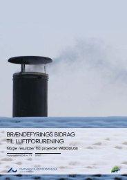Brændefyrings bidrag til luftforurening - DCE - Nationalt Center for ...